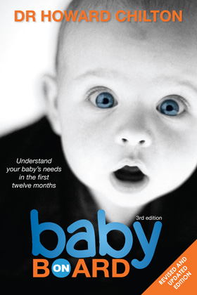 Baby on Board Cover Jacket Front